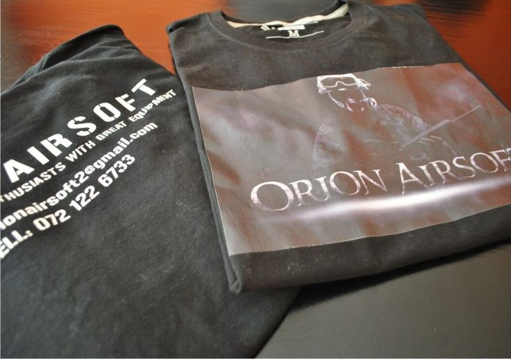 T-Shirt design and printing