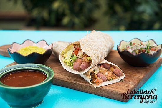 #Juaritos son dos deliciosas tortillas integrales , una exquisita versión de burritos veganos. #Vegan