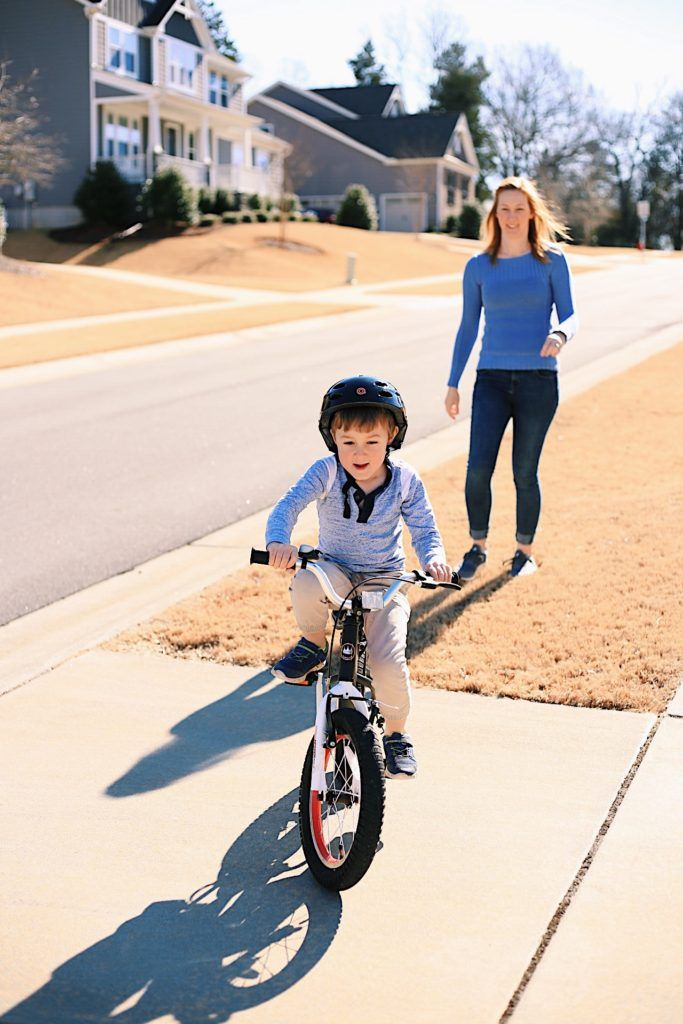 How To Teach A Kid To Ride A Bike In One Day With A Three Step
