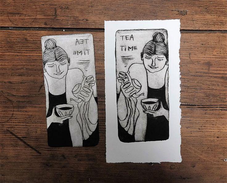 Graver un personnage sur Tetra Pak® et l'imprimer sur papier | L'atelier Canson
