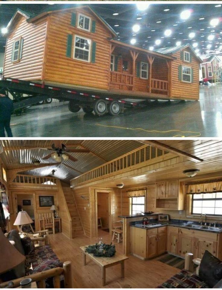 Cumberland Log Cabin Kit from $16,350 By the Amish Cabin