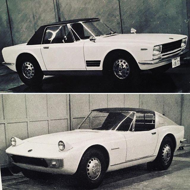 Z-car prototypes #datsun #nissan #240z #prototype #designstudy #jdm #zcar #conceptcar #fairlady