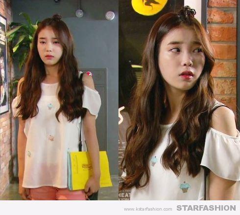 [같은 옷 다른느낌] 아이유VS손나은 '어깨트임티셔츠', 귀엽거나 사랑스럽거나