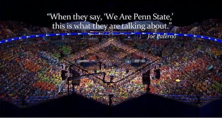 This is one of the many reasons I'm Penn State Proud.