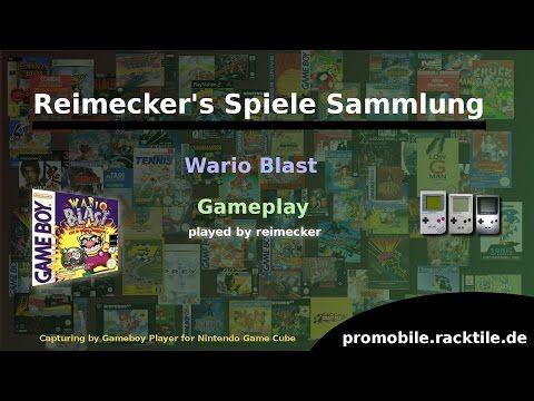 Reimecker's Spiele Sammlung : Wario Blast