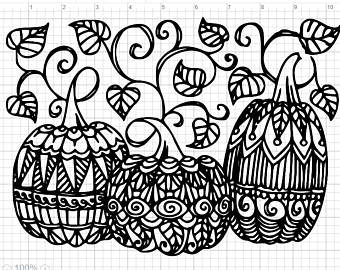 free thanksgiving coloring pages to print mandala amp scarecrow - 340×270
