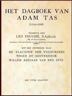 Adam Tas is arrested : 28 February, 1706