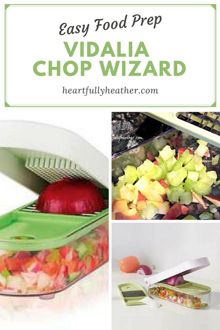 The Vidalia Chop Wizard Makes Preparing Food Easier: food prep, food prep tools.