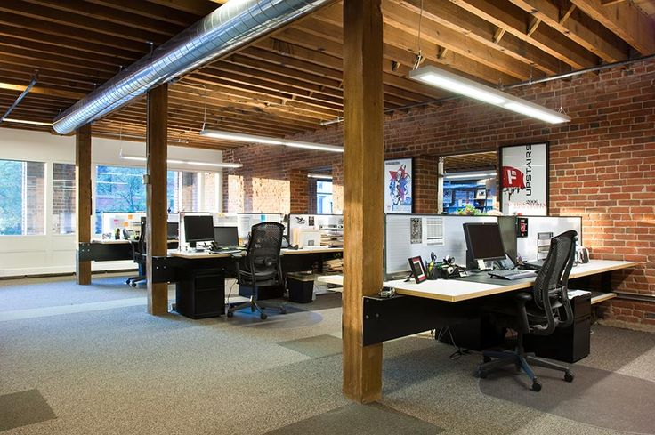 modern cubicle design | modern denver architecture open work space desk cubicle