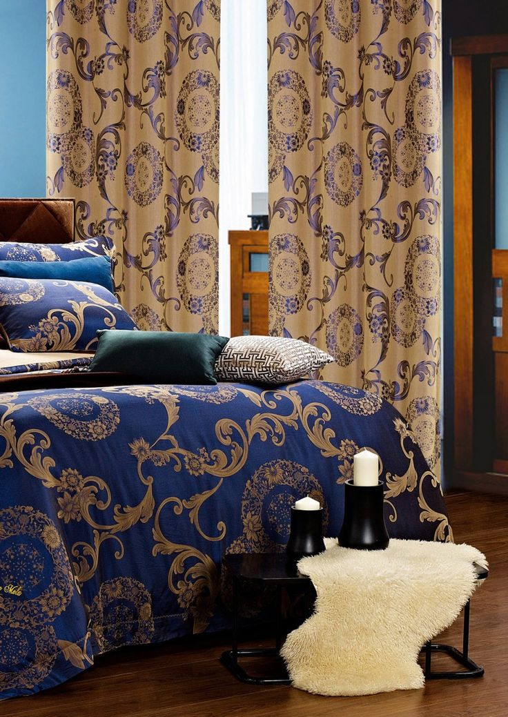 Venus Curtains. Matching bed set available.