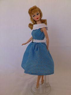 Molde para Barbie - Réplica do Vestido Dancing Doll - 1965