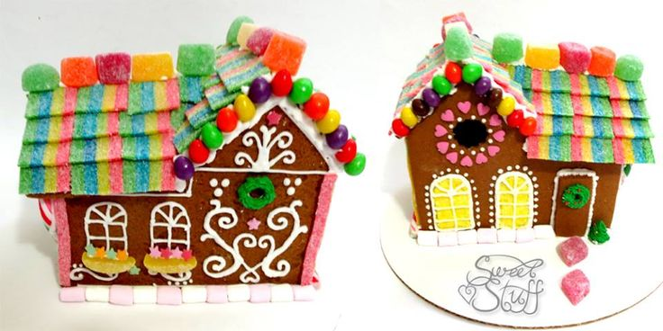 Gingerbread House  #christmascookie #gingerbreadhouse #sweetstuff