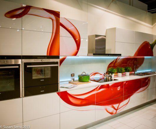 Red Kitchens For Valentine S Day The Kitchen Designer