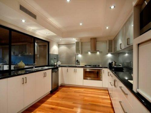 Einbauküchen u form modern  Die besten 20+ Küchenschrankformen Ideen auf Pinterest | U-Form ...