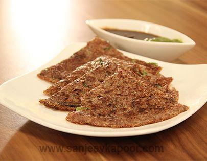 The 25 best recipes for breakfast vegetarian by sanjeev kapoor how to make instant ragi uttapam recipe by masterchef sanjeev kapoor forumfinder Images
