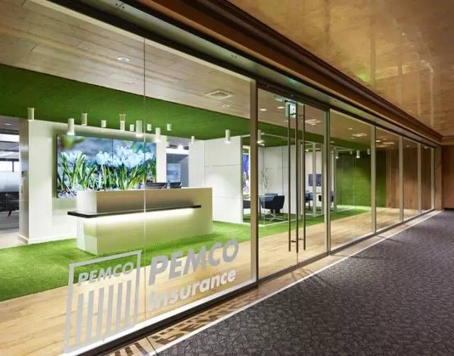 Green Office Appreciation Of American Pemco Insurance Office Design Ad 1 绿色办公美国pemco保险办公设计欣赏green Office Appreciation Of America Commercial Office Design Architecture Design Lobby Design