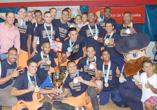 Bucaneros de la Guaira-Seleccion de voleibol campeones de la Liga Venezolana de Voleibol masculino | Correo del Orinoco 02 10 2016