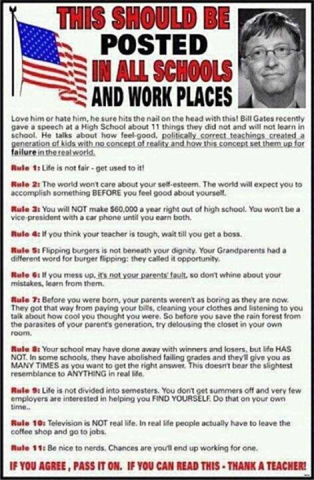 Bill Gates: 11 Rules of Life