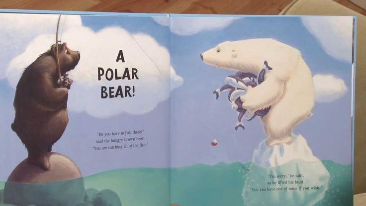 The Very Hungry Bear - by Nick Bland (© Scholastic Australia)