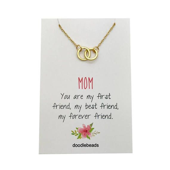 Mom You Are My First Friend My Best Friend My Forever Friend Necklace Makes A Lovely Gift For Mom For Birthday Cards For Mom Bride Gifts Sentimental Gifts