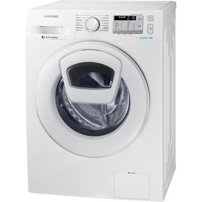 Samsung Ecobubble WW80K5413WW Front-Loading 8Kg Washing Machine – White #Samsung  #Ecobubble #Washing #Machine