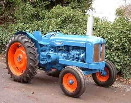 Fordson Major Tractor Fordson Major Pinterest