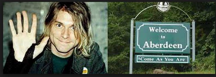 """curiosidades """"Bienvenido a Aberdeen, Come as you are."""" en honor a una de las mejores canciones de Nirvana"""