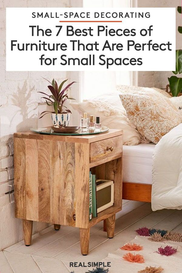 The 7 Best Pieces Of Furniture For Small Spaces