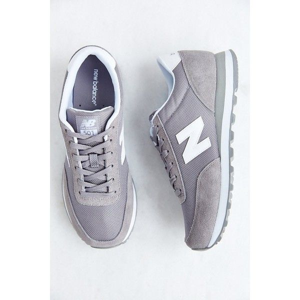 New Balance 501 Classic Running Sneaker ($65) ❤ liked on Polyvore featuring shoes, sneakers, new balance footwear, new balance shoes, traction shoes, suede shoes and lightweight shoes