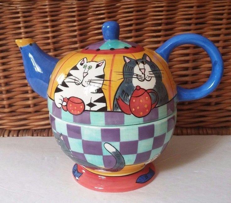 Black Cat Teapot Value