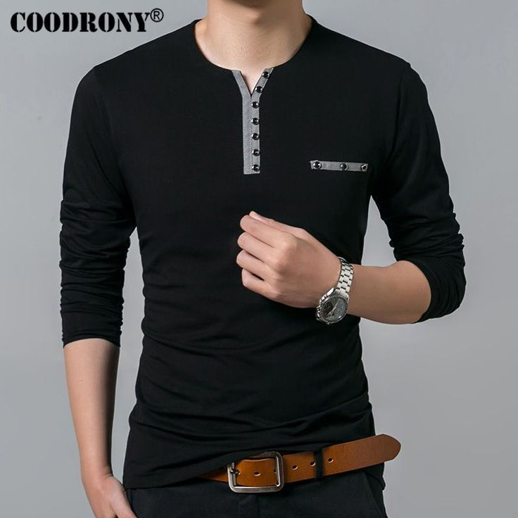 COODRONY Pure Cotton T Shirt Men 2017 Spring Autumn New Long Sleeve T-Shirt Men Henry Collar Shirt Men Fashion Slim Fit Top 7617     Tag a friend who would love this!     FREE Shipping Worldwide     Buy one here---> https://onesourcetrendz.com/shop/all-categories/mens-clothing/mens-t-shirts/coodrony-pure-cotton-t-shirt-men-2017-spring-autumn-new-long-sleeve-t-shirt-men-henry-collar-shirt-men-fashion-slim-fit-top-7617/