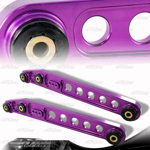 1996 2000 Honda Civic JDM Purple Aluminum Rear Suspension Lower Control Arms   eBay