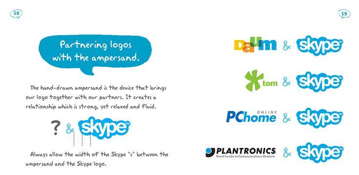 brand guidelines - partners - Skype