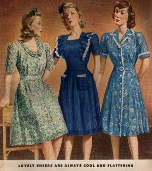 1940s Fashion What Did Women Wear In The 1940s 1940s