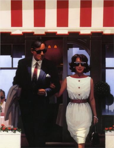 Lunchtime Lovers - Jack Vettriano