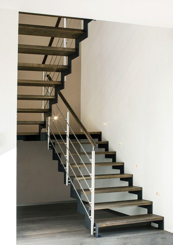 Můj Dům   Otevřené schodiště má řadu výhod