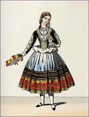 Итальянский народный костюм