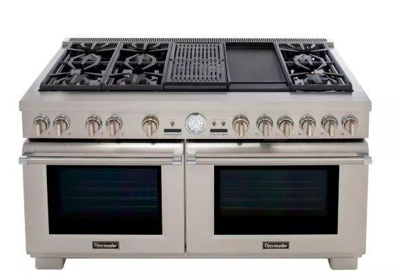 Best 60 Inch Professional Ranges Reviews Ratings Prices Kitchen Remodel Gas Stoves Kitchen Kitchen Design