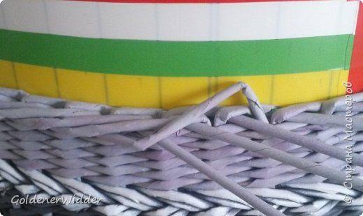 Materiali e strumenti Weave pigro pigro Duct carta fotografica 5