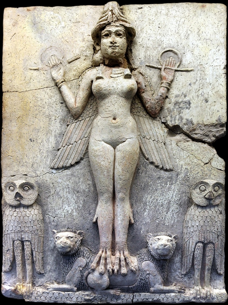 Inanna, Queen of the Night, Sumerian mythology