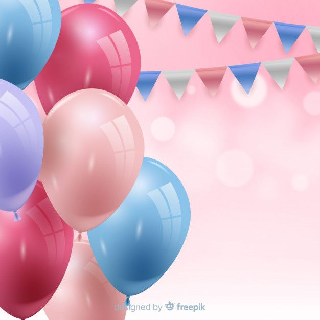 Download Birthday Background With Balloons For Free Birthday
