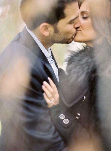 engagement photography - style me pretty - engagement session - jose villa - paris