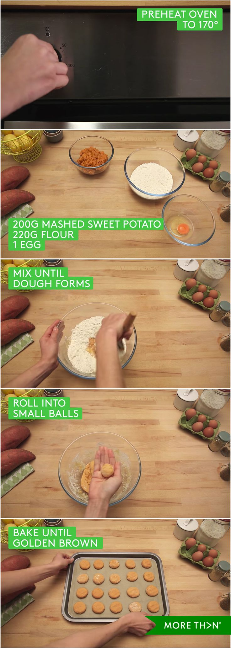Want to cook delicious and easy treats for your dog? Grab some flour and preheat your oven! Watch the video to find out more.