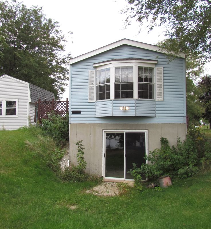 Original || The redo this with Cedar Shake Siding and a Stone Walk-Out || The Whim; A Single Wide Remodeled with Cedar Shake Siding, Part 2
