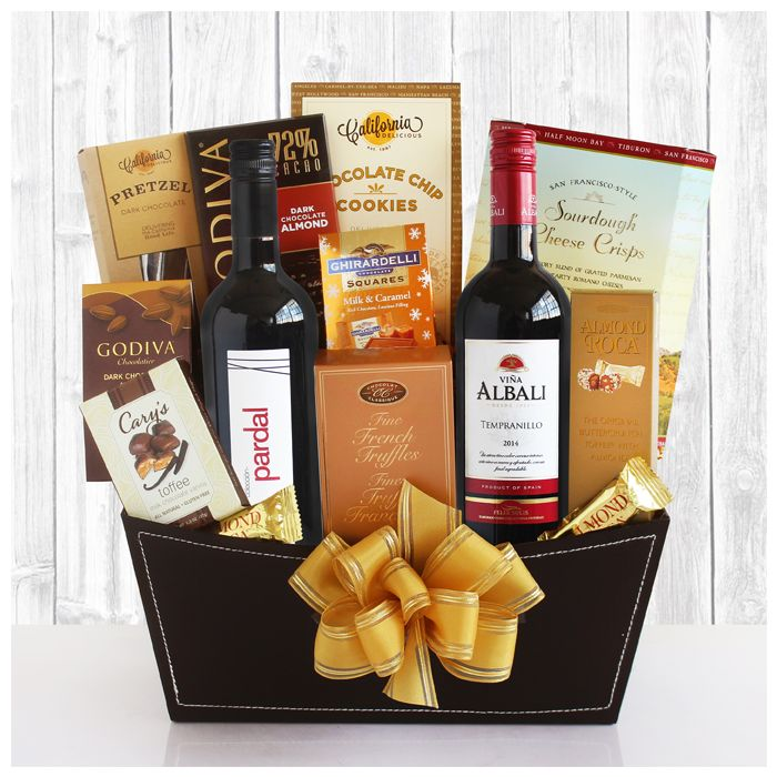 Death By Chocolate Gift Basket. This handpicked basket is loaded with all of our favorites and then expertly paired with wines that will accentuate the experience. FREE GROUND SHIPPING in Contiguous U.S. !  http://www.shareasale.com/u.cfm?d=339578&m=47747&u=1233420