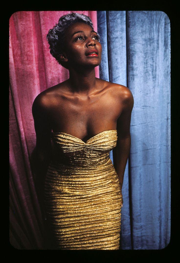 Carl Van Vechten's portraits of Harlem figures of the 1940s, 50s and 60s: Joyce Bryant 1951