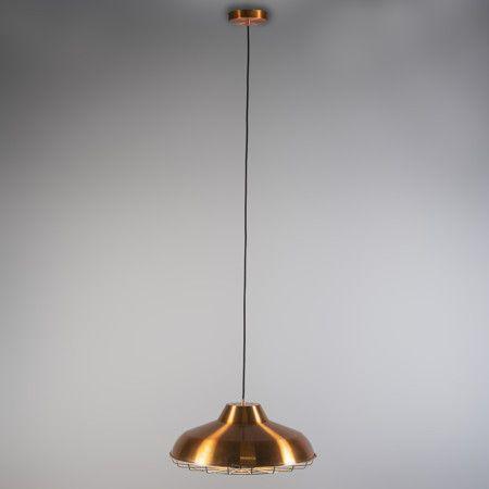 L mpara colgante lucas cobre decoracion iluminacion - Iluminacion estilo industrial ...