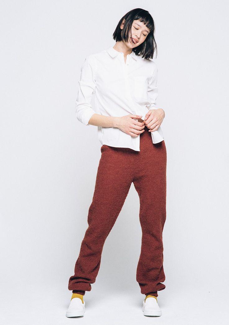 Emma bukse Strikkeoppskrift