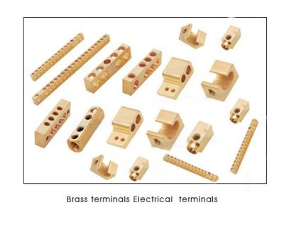 #Brassterminals  #Electricalterminals  We are a top producers and suppliers of all kinds of #BRASSTERMINALS and #ELECTRICALTERMINALBLOCKS from India. We have our own Brass extrusion plant and can draw various sections and profiles needed for manufacturing of Brass terminals and terminal blocks. We serve various electrical industries like switchgears, relays, enclosures, distribution boards, switchboards,fusegear etc. We offer #25Ampere,  #35ampere, #50ampere #connectors and #terminals.