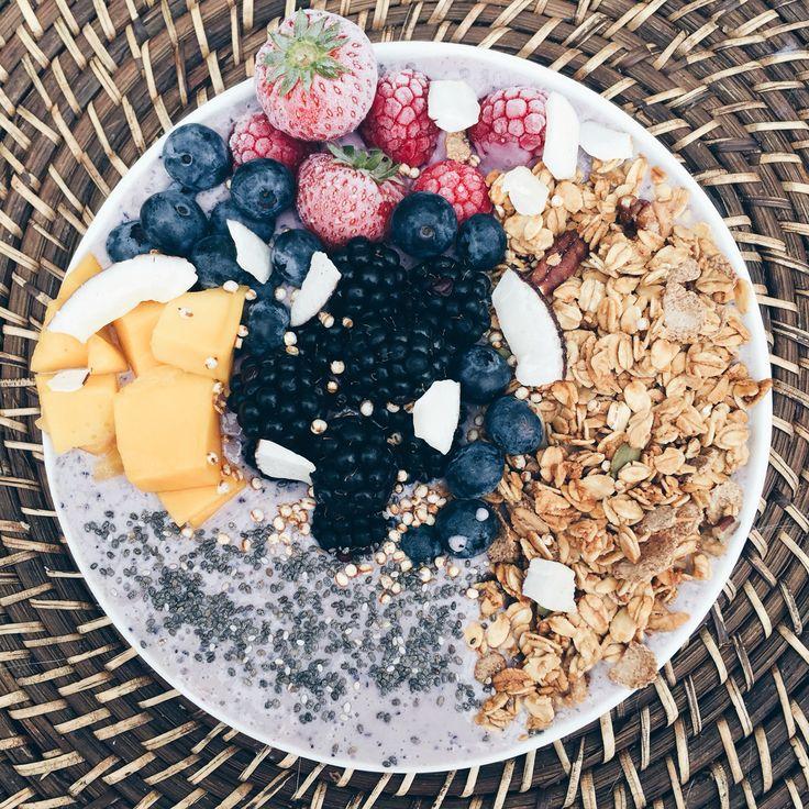 Colourful breakfast